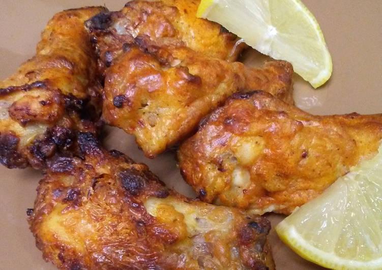 Air Fryer Chicken Drummettes recipe main photo