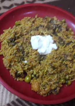 Mixed Veg Hara bhara pulao