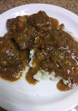 Fried Liver with Onions and Gravy