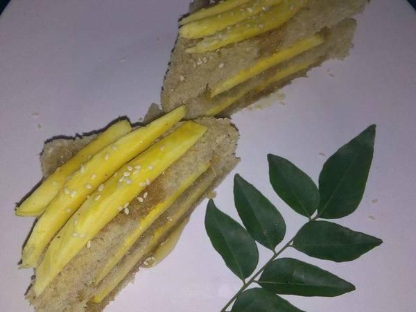#cookwithoutfire (Hunny Mango Sandwich)
