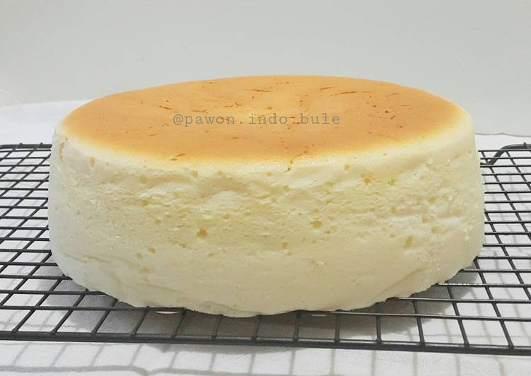 Recipe For Japanese Jiggly Cake: Jiggly Fluffy Cheesecake Recipe