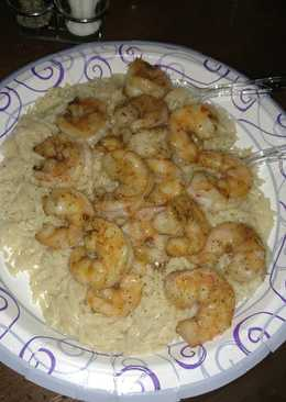 Grilled Summer Shrimps with Orzo