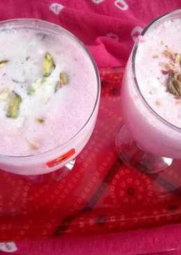 Rose Flavour and Kesar Pista Lassi