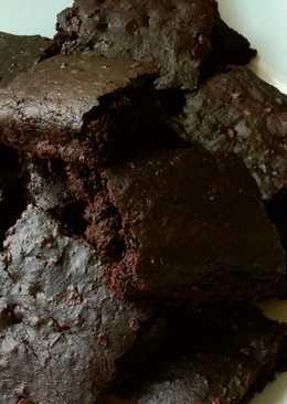 Vickys Fudgy Sweet Potato Brownies