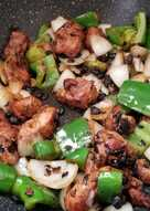 resep masakan chinese black beans spareribs with green bell pepper onion
