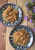 Szechuan Chicken Noodles