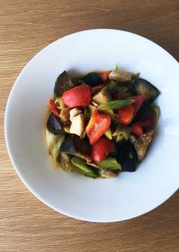 Miso Chicken and Vegetables Stir-fry