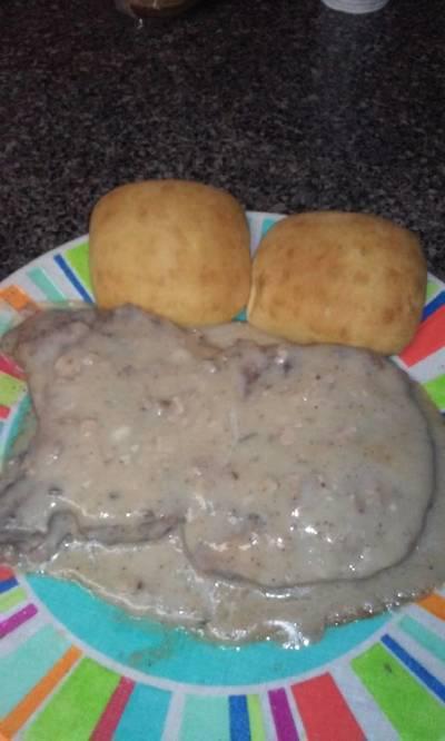 Baked Smothered Pork Chops