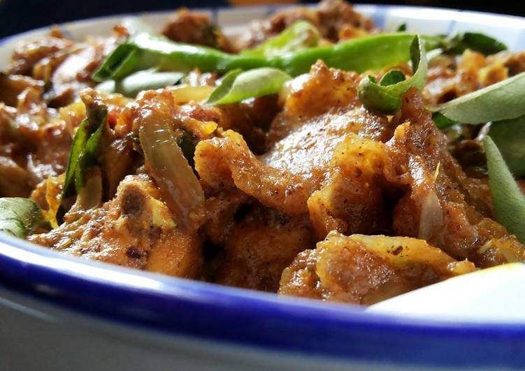 how to make chicken dry fry