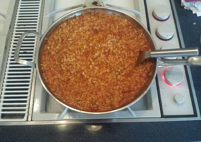 Resep Paleo Spanish Rice with Tuna