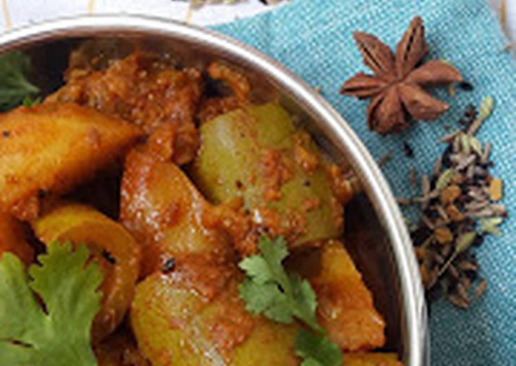 PARWAL (Pointed Gourd) ALOO Ki Sabzi
