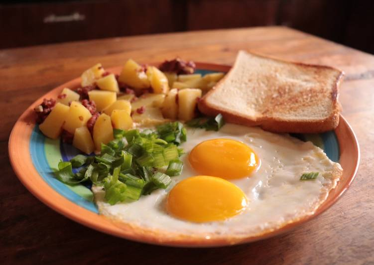 Classic American Breakfast Recipe By Soule Mourderer