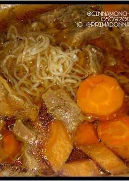Simple Nikujaga (Beef Stew) in Slow Cooker