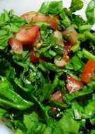 Palak methi Salad