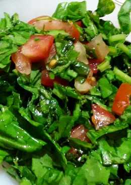 Palak methi Salad