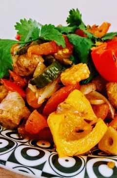 resep masakan thai red curry vegwith winter veggies