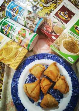 Quick and Easy Dal samosa