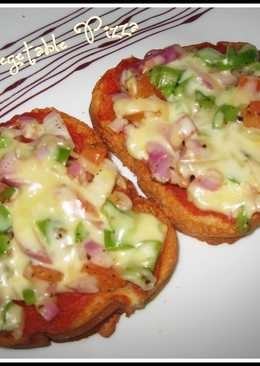Vegetable Bread Pizza
