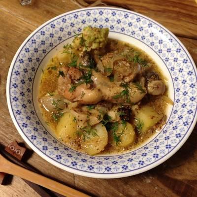Mustard Chicken Stew