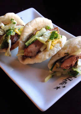 Chinese BBQ Pork 'Tacos'
