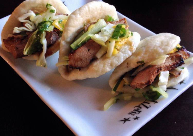 Chinese BBQ Pork 'Tacos'
