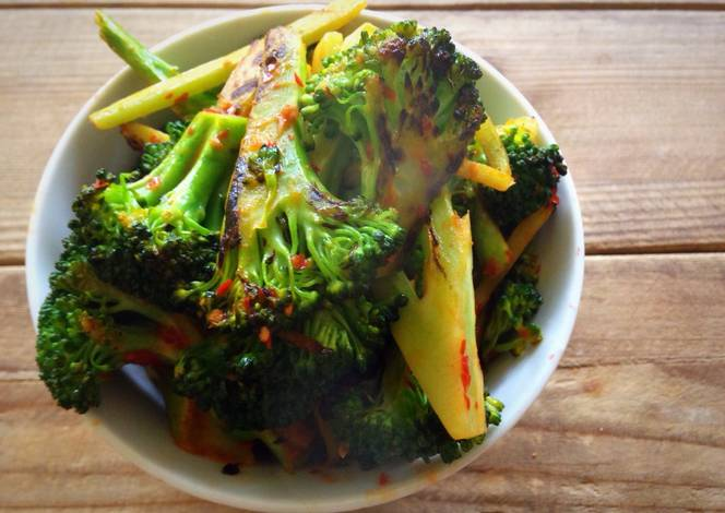 Resep Chili Garlic Brocolli