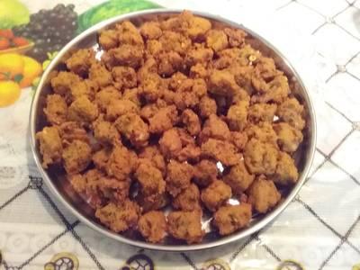 Chana dal bhajias