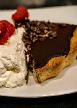 Chocolate tart. A slice is like eating a really big truffle :)