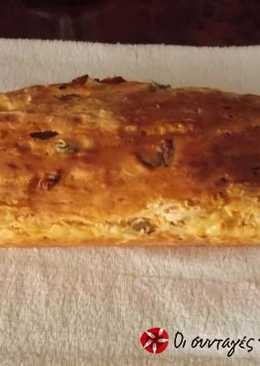 Olive bread easy and delicious