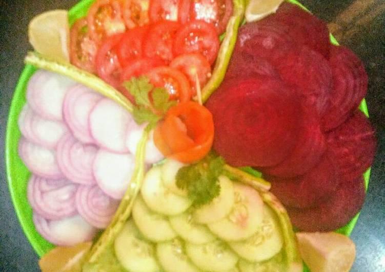 Salad Decoration Recipe By Harshita Arora Cookpad
