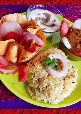 Rajma Rice Punjabi Style