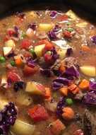 resep masakan vegetable beef soup