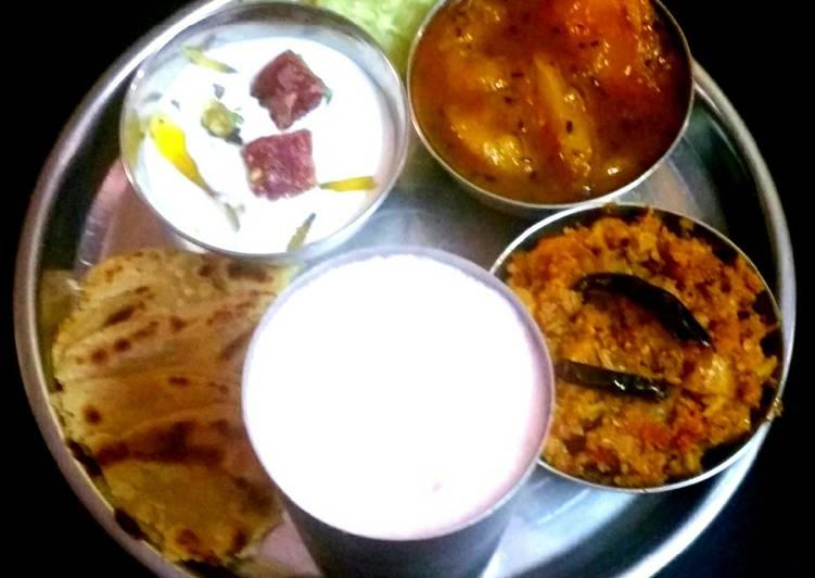 Healthy And Light Dinner (Take Vegetable In Dinner Instead Of Dal)
