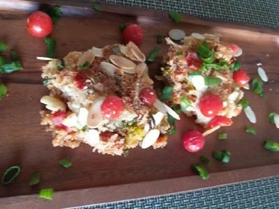 Quinoa au gratin