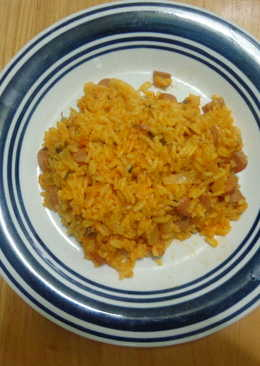 Portuguese Sausage and Rice
