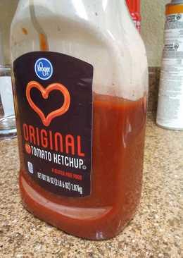 Mostly Homemade Ketchup