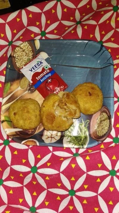 Fried Cheese baati