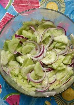 Mr. Spock's cucumber salad