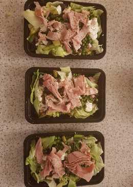 Pea and Ham Salad