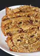 Vegan Whole wheat-Oats- Banana Bread