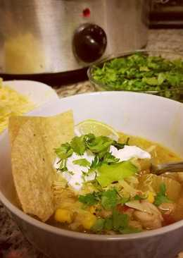 Fall into White Bean Chicken Chili