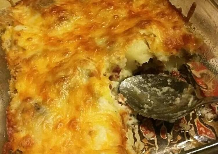 Cheesy Ranch Potato Bake Recipe by StephieCanCook - Cookpad