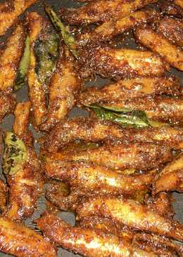 Nethili Meen Fry/Anchovies Fry