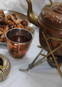 Shirazi rice pilaf قنبر پلو شیرازی #familyfriendly