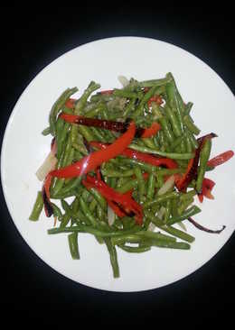 Stirfried Green Beans with Xoconostle