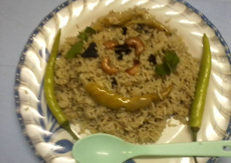 Pudhina rice