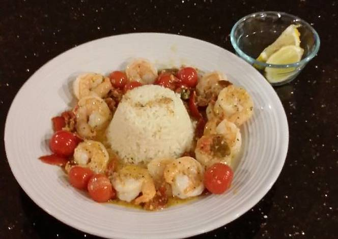 Resep Spicy Shrimp Scampi