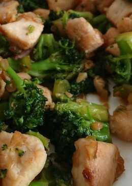 Honey Soy Chicken Broccoli Stirfry