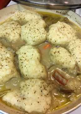 I have been hungry for Chicken and dumplings  I very rarely follow a recipe