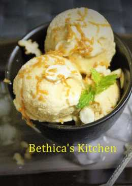 Date Palm Jaggery Ice Cream